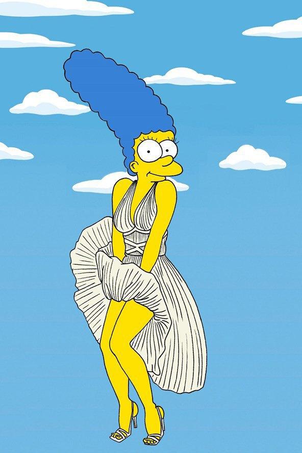 Мардж Симпсон снялась для Vogue. Изображение № 5.