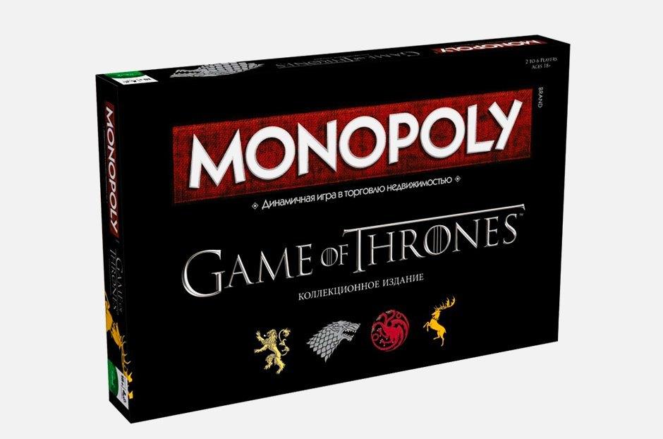Зима уже здесь: Монополия по «Игре престолов». Изображение № 1.