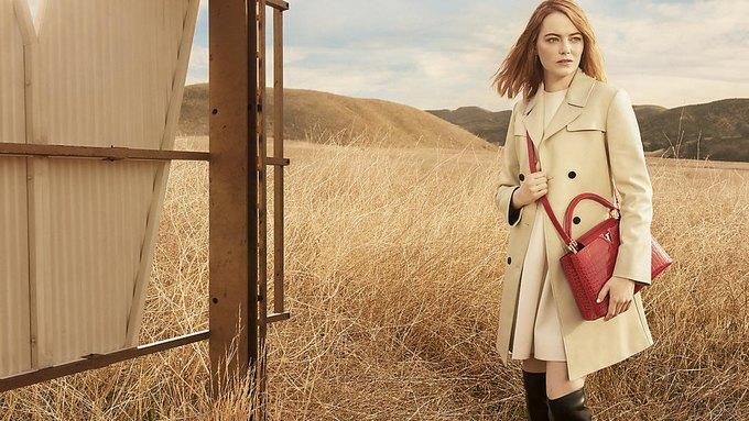 Louis Vuitton опубликовал первую кампанию с Эммой Стоун. Изображение № 4.