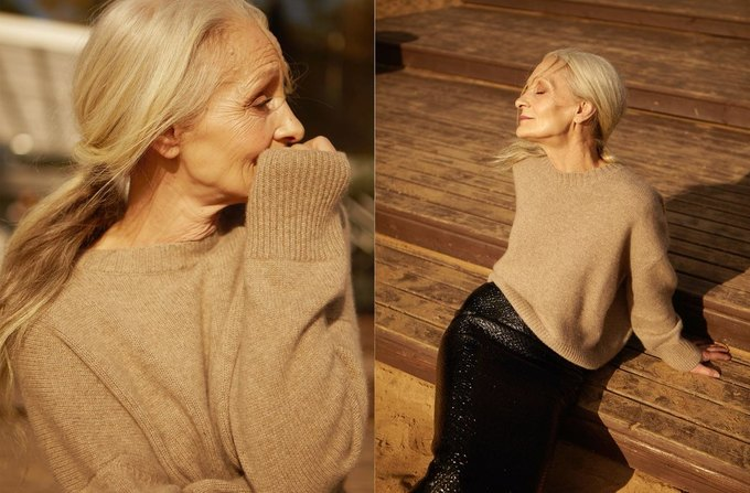 62-летняя модель Oldushka снялась в лукбуке 12Storeez. Изображение № 7.