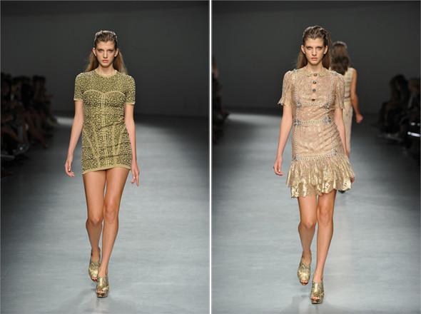 Показы на Milan Fashion Week SS 2012: День 1. Изображение № 16.