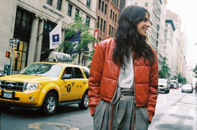 Леандра Медин провела экскурсию по Нью-Йорку  в фильме Mango. Изображение № 5.