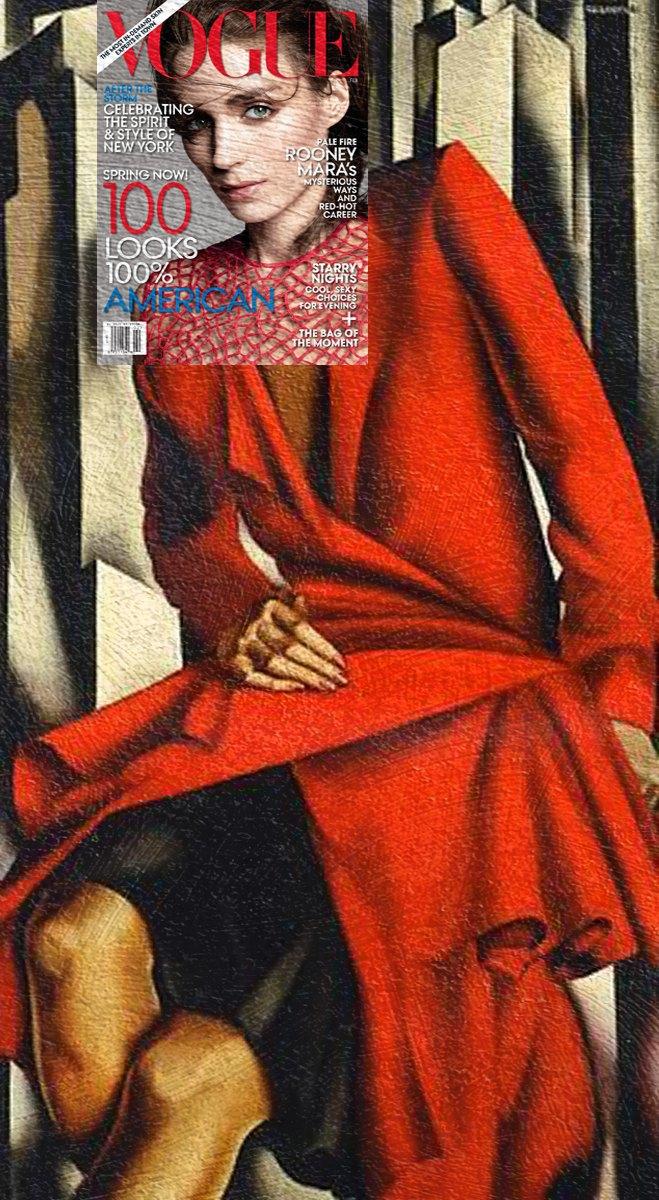 Mag + Art: Коллажи из глянца и живописи. Изображение № 11.