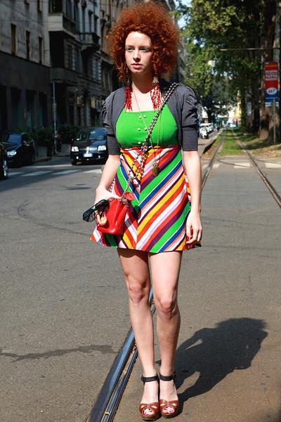 Milan Fashion Week: Уличный стиль, день 5. Изображение № 12.