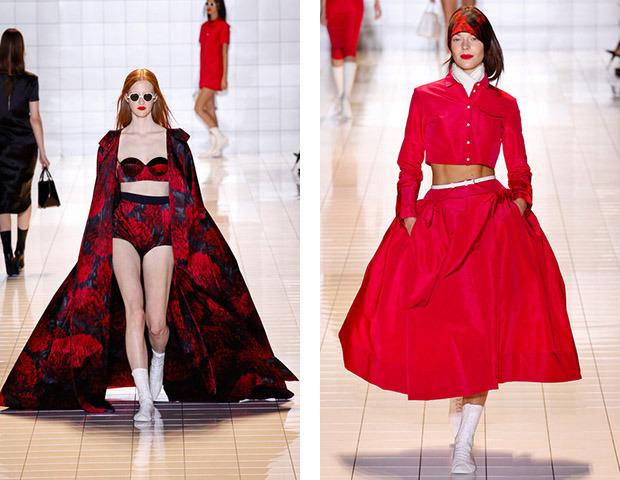 Парижская неделя моды: показы Damir Doma, Dries Van Noten, Rochas, Gareth Pugh и Mugler. Изображение № 25.
