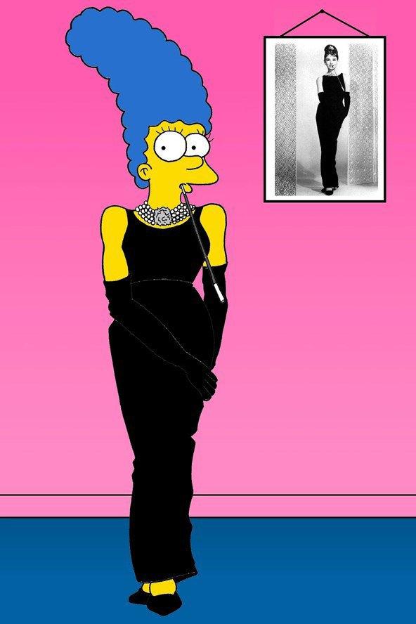 Мардж Симпсон снялась для Vogue. Изображение № 4.