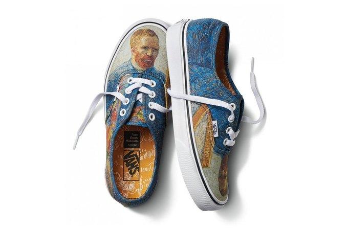 Vans и музей Ван Гога показали совместную коллекцию. Изображение № 5.