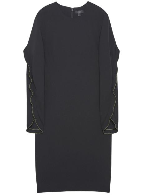 Тёплые платья на осень: 11 вариантов от простых до самых роскошных. Изображение № 3.