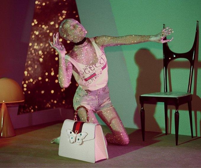 В новой кампании Gucci снялись пришельцы  и динозавры. Изображение № 19.