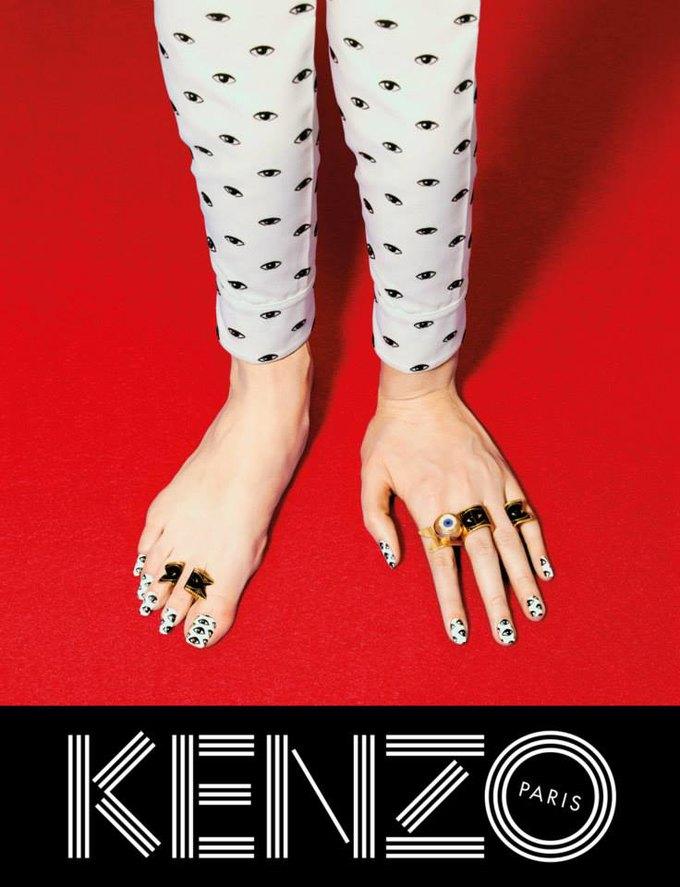 Котики и глаза в новой кампании Kenzo. Изображение № 3.