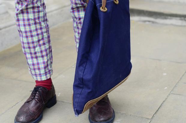 Streetstyle: Неделя моды в Лондоне, часть 2. Изображение № 23.