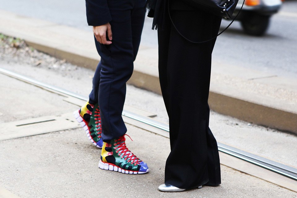 Анна Делло-Руссо, Элеонора Каризи и другие гости Миланской недели моды. Изображение № 6.