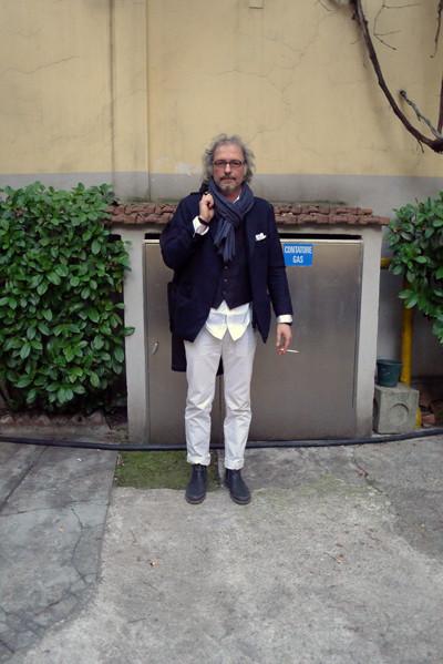 Milan Fashion Week: день четвертый – луки. Изображение № 1.