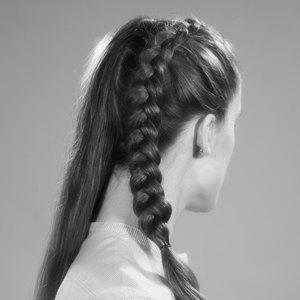 Модные причёски  из 90-х для волос  разной длины. Изображение № 5.