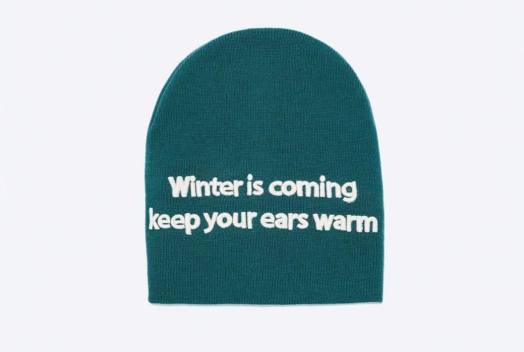 Актуальная шапка Winter is Coming. Изображение № 1.