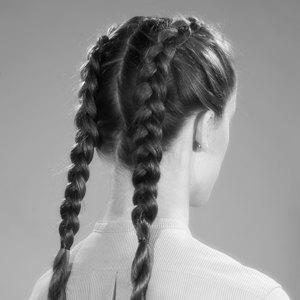 Модные причёски  из 90-х для волос  разной длины. Изображение № 6.