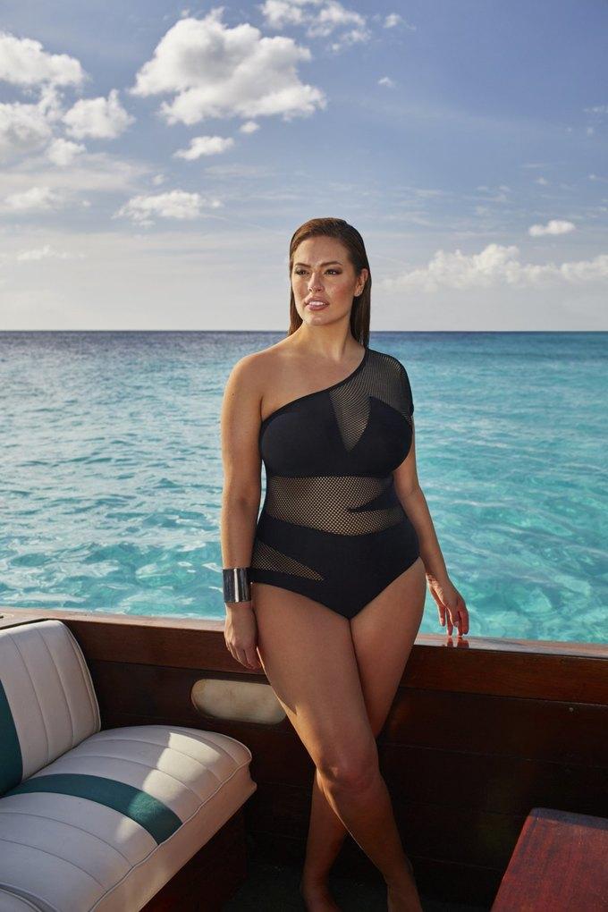 Эшли Грэхэм создала коллекцию купальников  для Swimsuits for All. Изображение № 4.