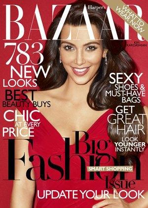 Как и почему Ким Кардашьян попала  на обложку Vogue. Изображение № 4.