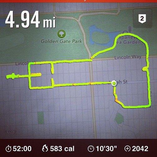 Американка превращает маршруты тренировок Nike+ в рисунки пенисов. Изображение № 1.