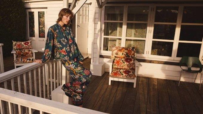 H&M показали красивый коллаб с текстильной маркой GP & J Baker . Изображение № 3.
