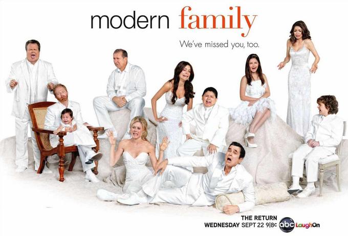 Постер 8-го сезона «Американской семейки». Изображение № 6.