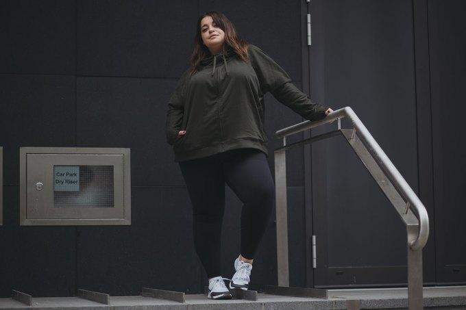 Nike запустили линию спортивной одежды больших размеров. Изображение № 10.