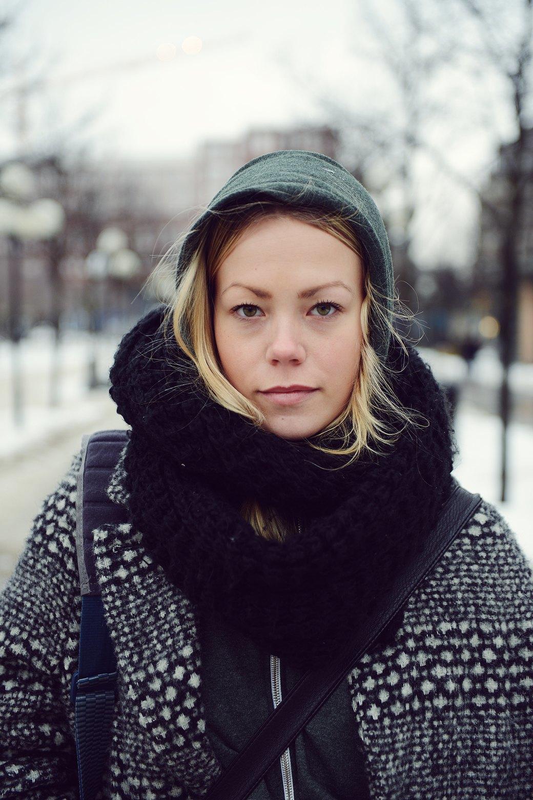 Шубы и горох на Stockholm Fashion Week. Изображение № 7.