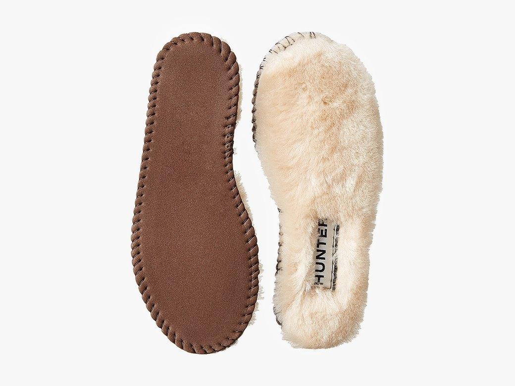 Теплые и пушистые стельки для обуви Hunter. Изображение № 2.