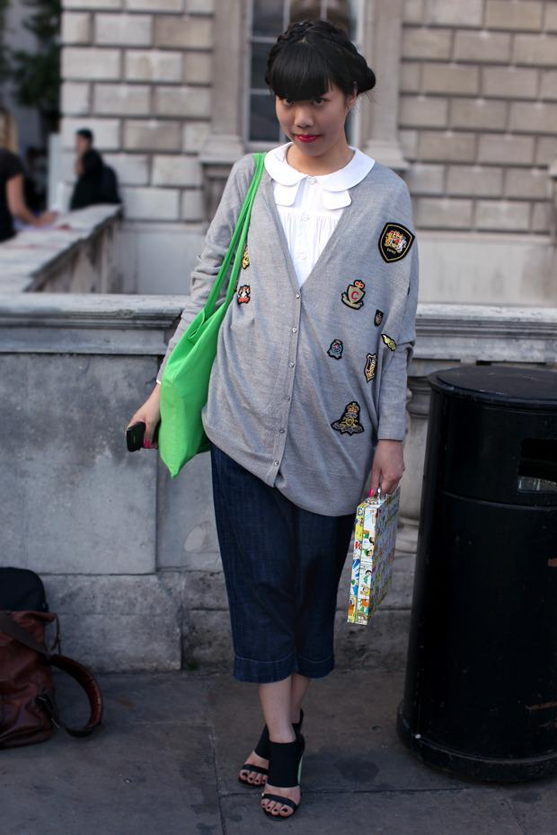 Streetstyle: Неделя моды в Лондоне, часть 1. Изображение № 55.