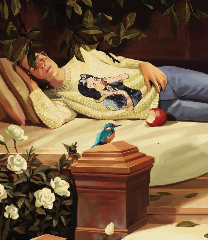 Новую кампанию Gucci нарисовал художник. Изображение № 5.