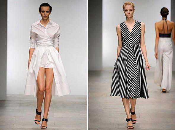 Показы на London Fashion Week SS 2012: День 2. Изображение № 1.
