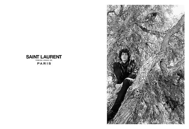 Тобайас Джессо-младший стал лицом Saint Laurent. Изображение № 2.