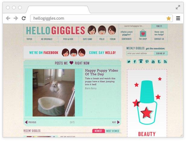 Боевой листок:  10 сайтов для девушек  с активной позицией. Изображение № 4.