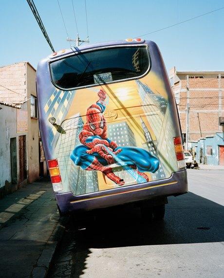 «Боливийские автобусы»:  Поп-культура на колесах. Изображение № 8.