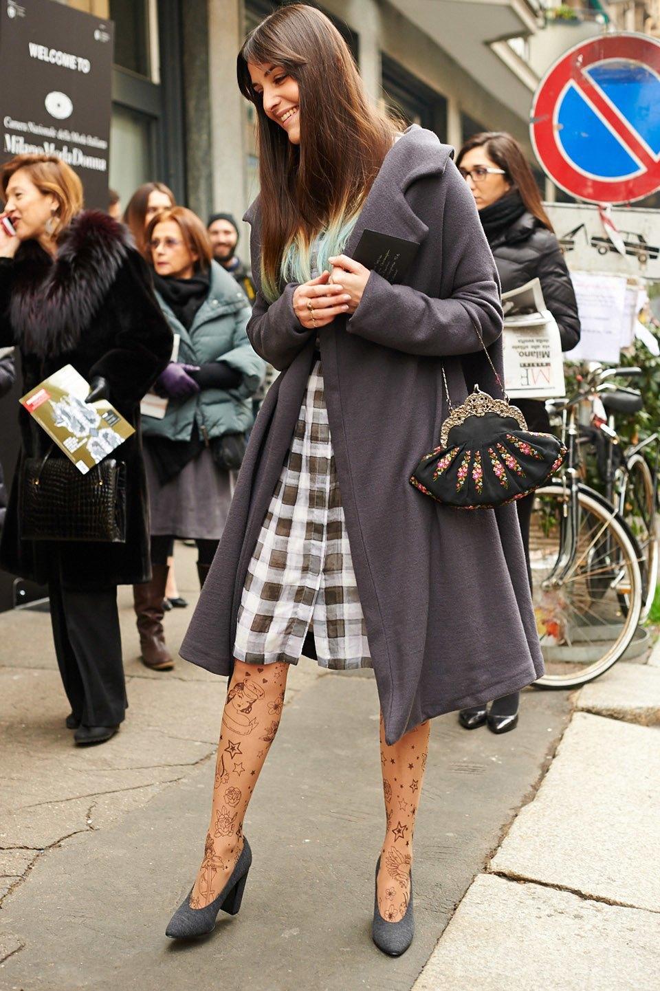 Стритстайл:  Неделя моды в Милане,  часть I. Изображение № 8.