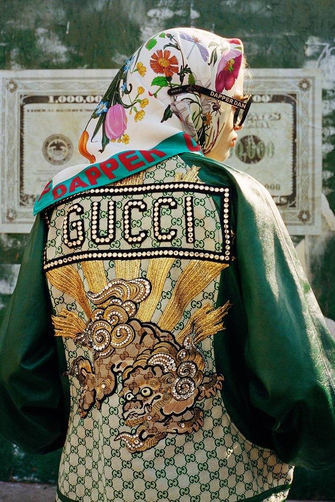 Gucci показали коллаб с дизайнером Дэппер Дэном. Изображение № 34.