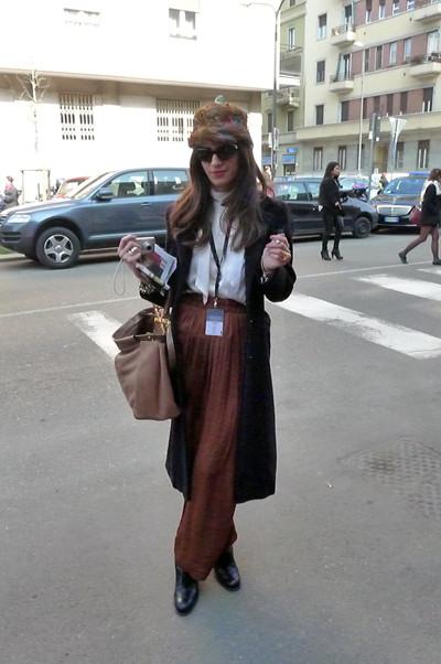 Milan Fashion Week: день третий – луки. Изображение № 22.