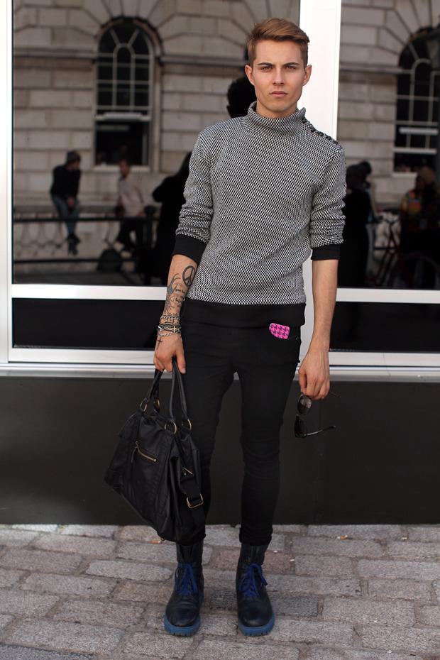 Streetstyle: Неделя моды в Лондоне, часть 1. Изображение № 42.