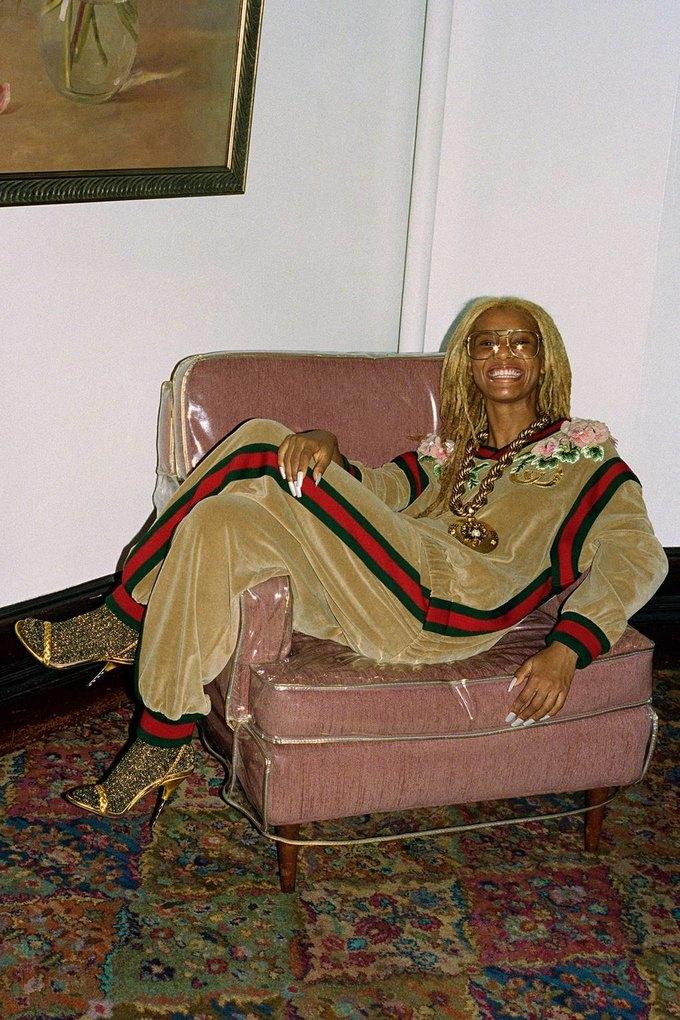 Gucci показали коллаб с дизайнером Дэппер Дэном. Изображение № 13.