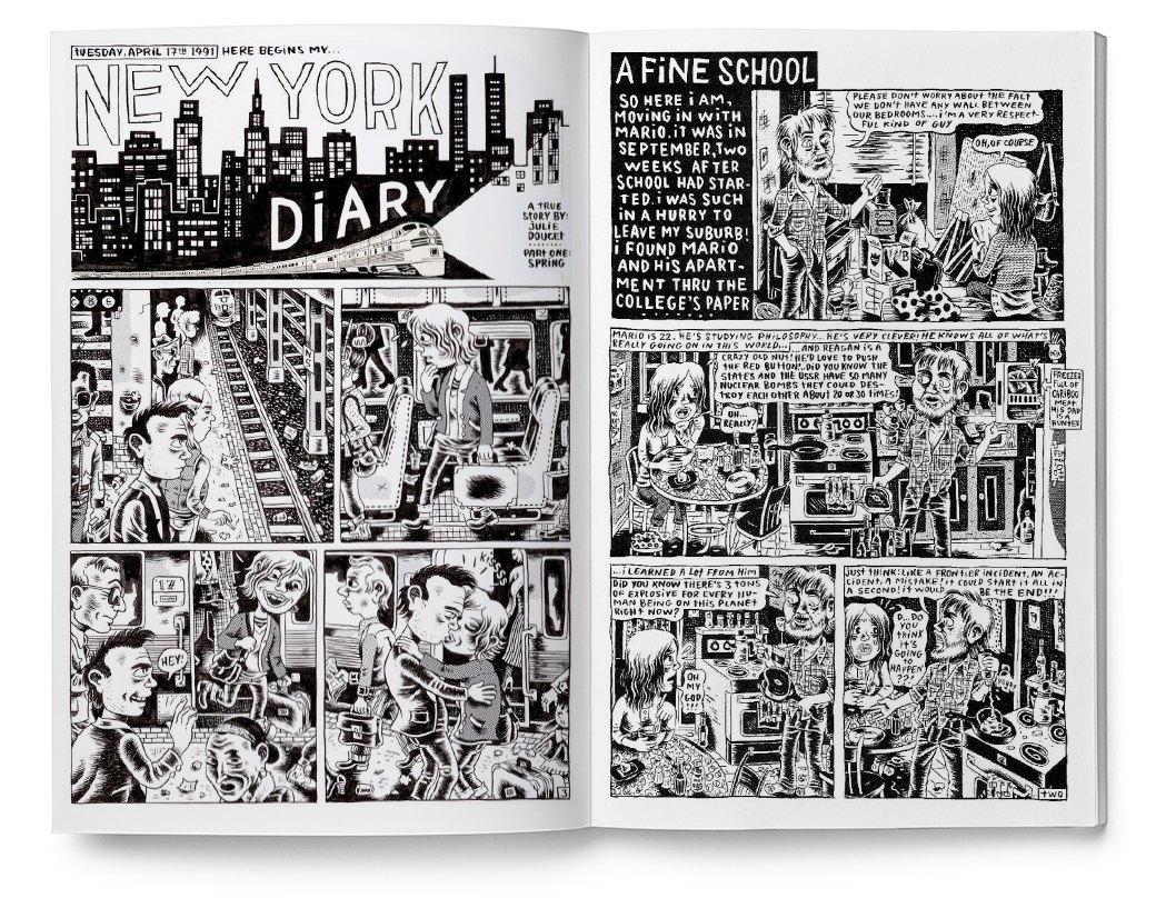 Мемуары в картинках: 10 комиксов о жизни женщин. Изображение № 4.