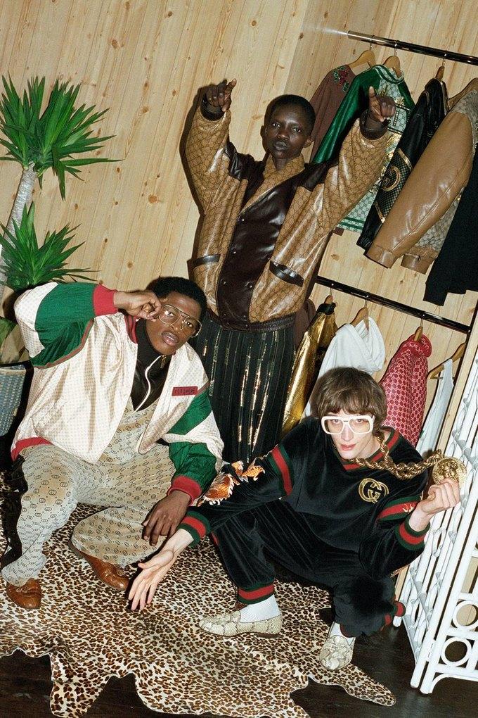 Gucci показали коллаб с дизайнером Дэппер Дэном. Изображение № 45.