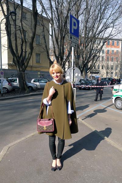 Milan Fashion Week: день третий – луки. Изображение № 11.