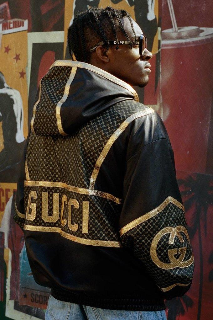 Gucci показали коллаб с дизайнером Дэппер Дэном. Изображение № 40.