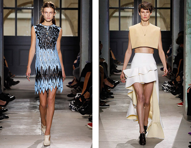 Неделя моды в Париже: Показы Balenciaga, Carven, Rick Owens, Nina Ricci, Lanvin. Изображение № 3.