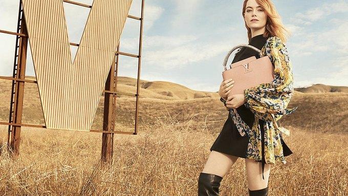 Louis Vuitton опубликовал первую кампанию с Эммой Стоун. Изображение № 2.