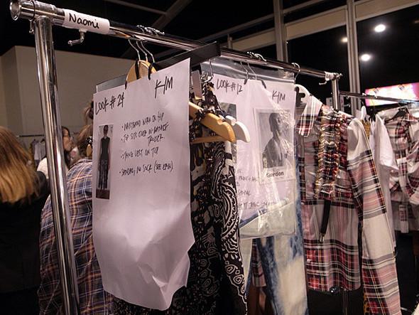 London Fashion Week: Бэкстейдж Danielle Scutt. Изображение № 9.