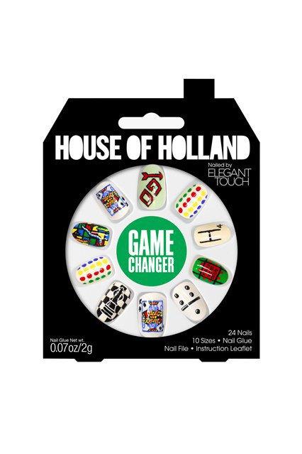 House of Holland и Elegant Touch сделали классные накладные ногти. Изображение № 4.