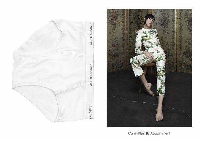 Милли Бобби Браун снялась в кампании Calvin Klein. Изображение № 13.