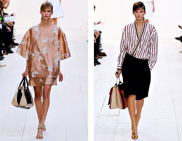Парижская неделя моды: Показы Stella McCartney, Chloe, Saint Laurent, Giambattista Valli. Изображение № 23.