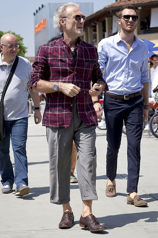 Стритстайл: Красивые мужчины на Pitti Uomo. Изображение № 26.